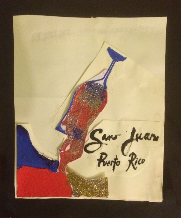 A Drink in San Juan - Desde Mi Corazon (Paintings)