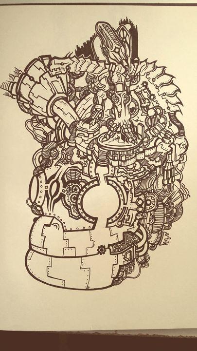 Brain Industry - Concept arts