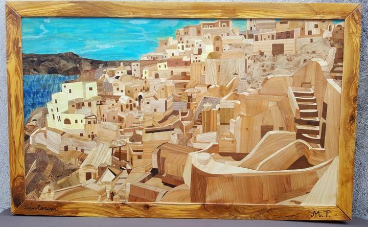 Santorini - i quadri di marco