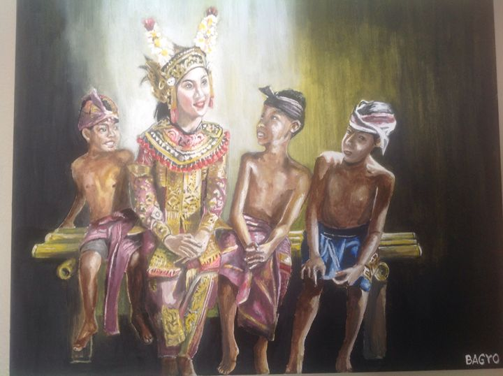 Balinese dancer - Bagyo's paintings