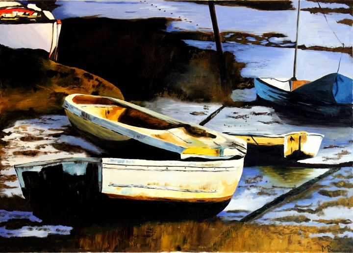 Boats - Leigh-On-Sea - Broadbent Fine Art