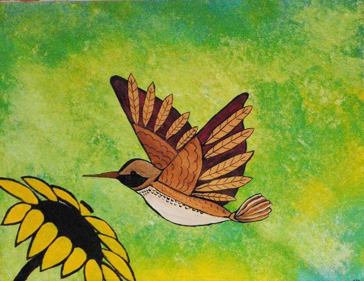 Hummingbird - Kathy Strickland