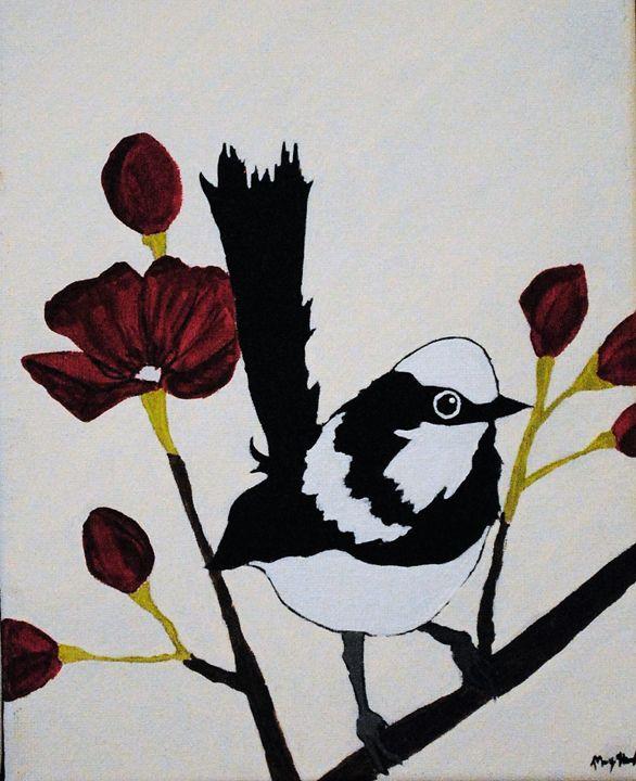 Bird on a limb - Kathy Strickland