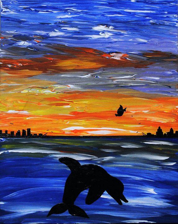 Dolphin - Kathy Strickland