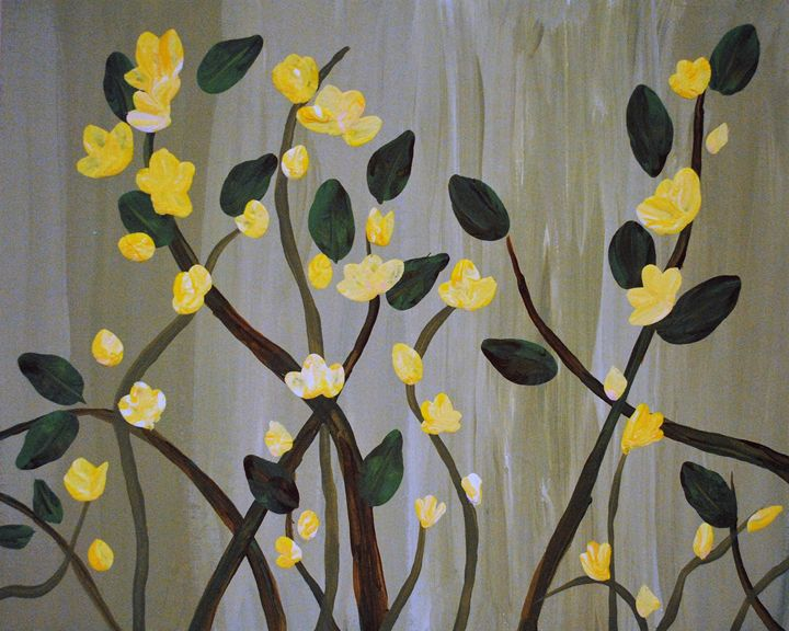 Yellow wildflowers - Kathy Strickland