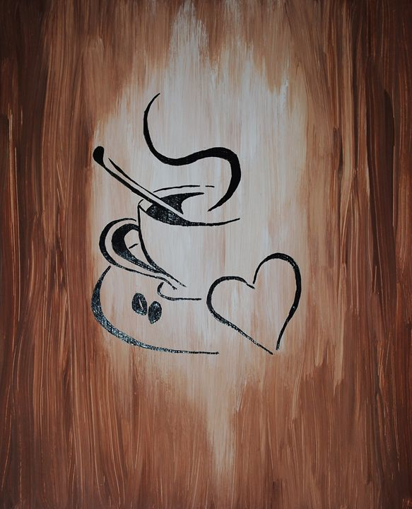 Love of Coffee - Kathy Strickland