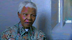 Nelson Mandela Revisits Cell