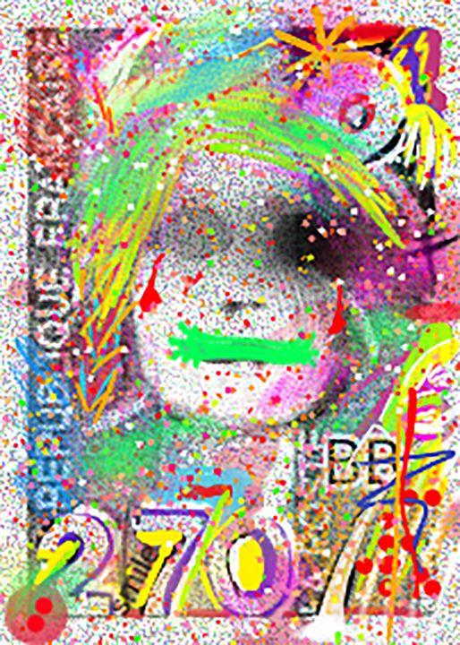 Stamp color - Laparra