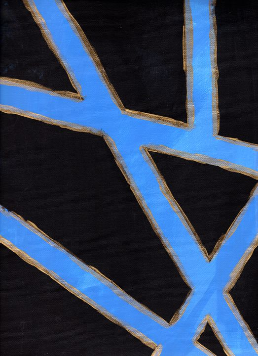 Golden Crossings - April's Art