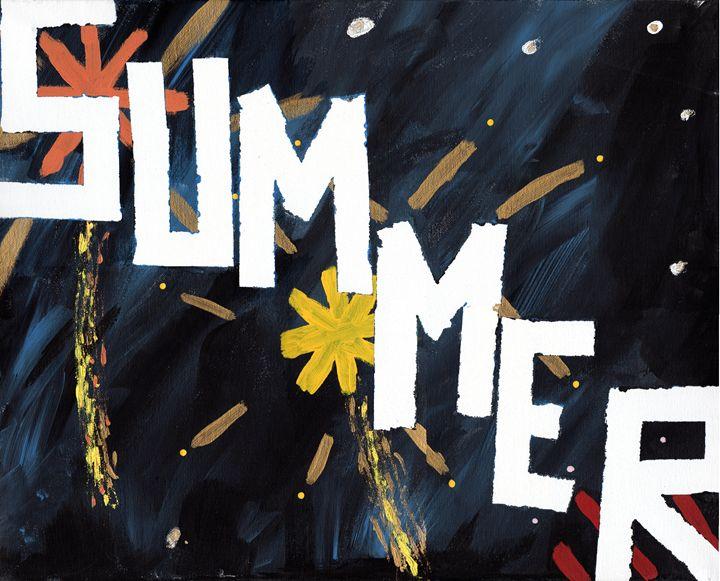 Summer Night - April's Art