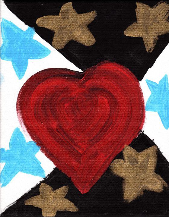 Stars of the Heart - April's Art