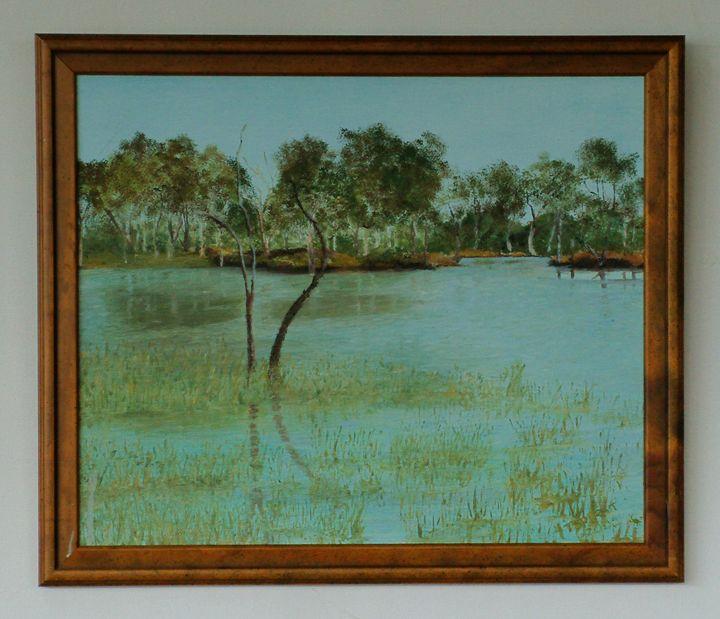 Lake Hindmarsh - oilypalette.com
