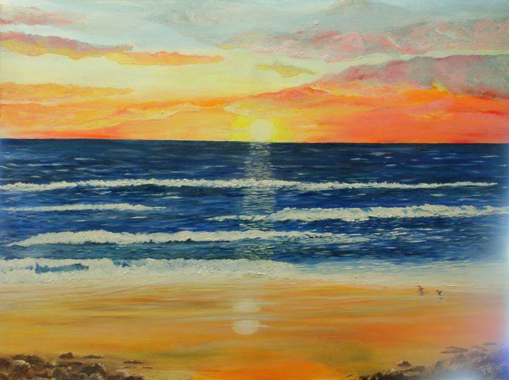 Somerton Sunset - oilypalette.com