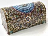 Miniature Persian jewelry box (Bone)