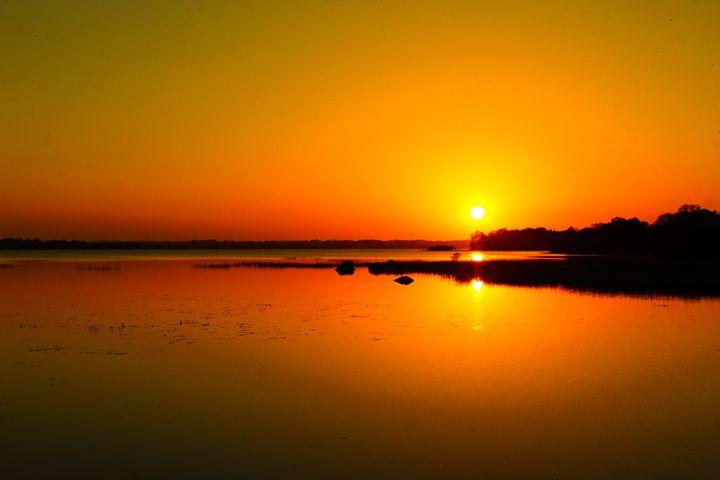 Setting Sun - Brymac PhotoArt