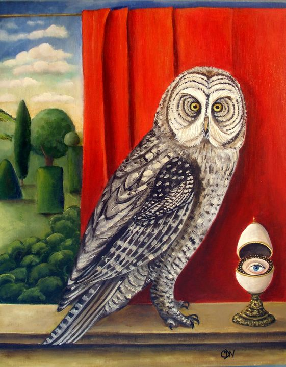 Show Me A Sign   Original painting - Catherine Nolin Art Studio