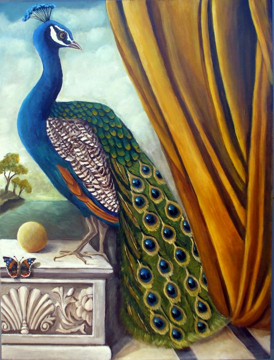 Peacock Place - Catherine Nolin Art Studio