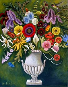 The Language Of Flowers - Catherine Nolin Art Studio