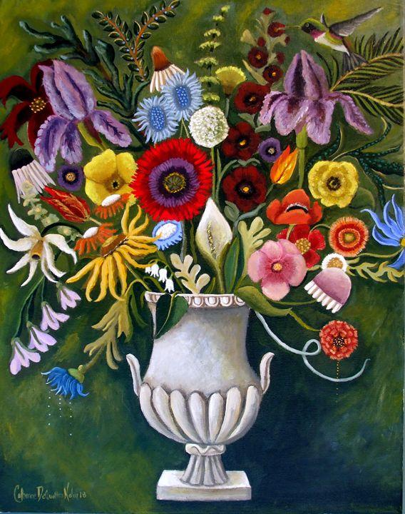 The Language Of Flowers - Catherine Nolin Art Studio