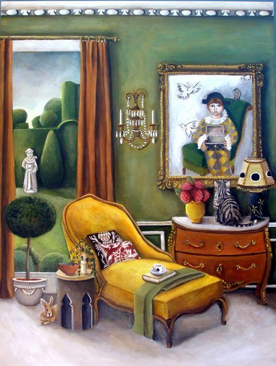 The Living Room - Catherine Nolin Art Studio