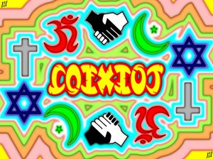 Coexist - Ambigram