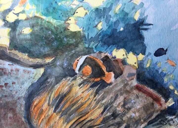 Underwater world - Angulo