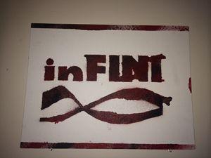 inF Street Art on Canvas