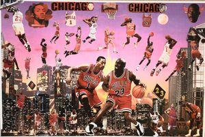 HOFer MJ vs FUTURE HOFer D-Rose - Dorian's One of a Kind HANDMADE NBA COLLAGES