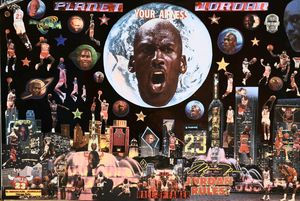 Your AIRNESS - Dorian's One of a Kind HANDMADE NBA COLLAGES