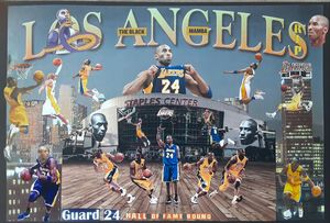 THE BLACK MAMBA R.I.P - Dorian's One of a Kind HANDMADE NBA COLLAGES
