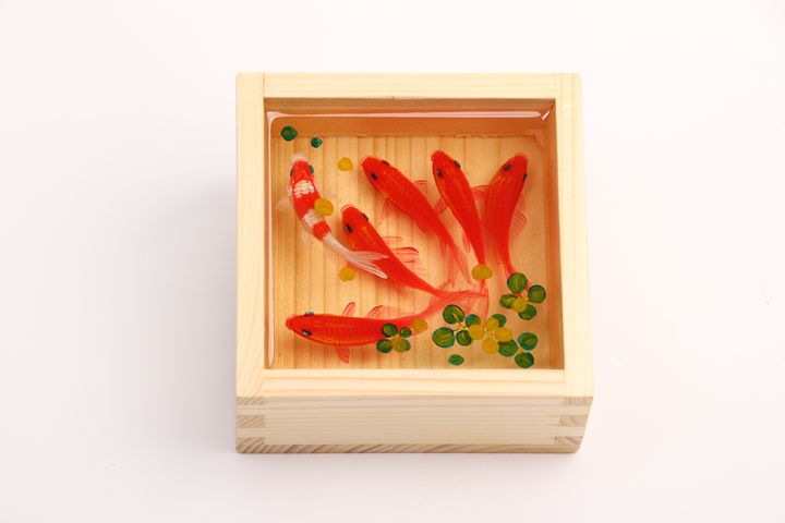 3D goldfish painting - Ti Ay