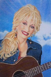 Dolly Parton Fan art