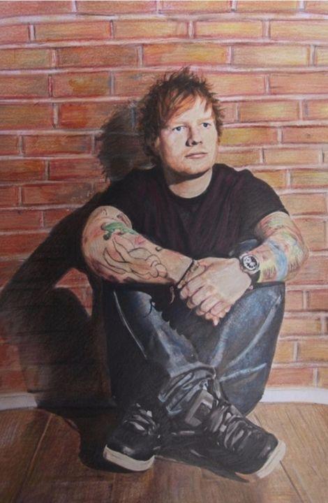 Ed Sheeran Fan art - marina's art