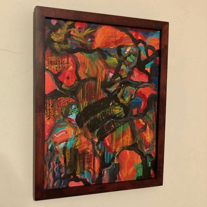 Abstract 1 - ArtPal.com/matthewjparker