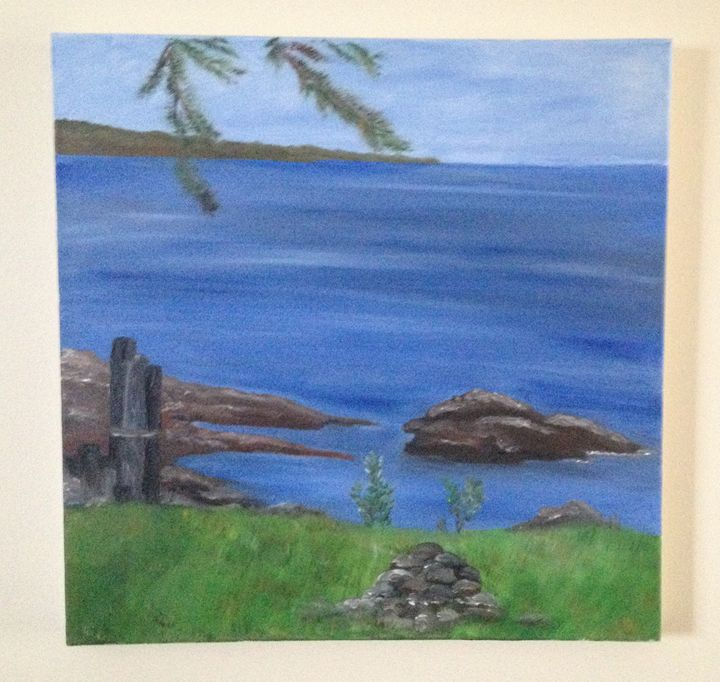 Morning Calm - Lake Superior - Sable'n'Stone Fine Art