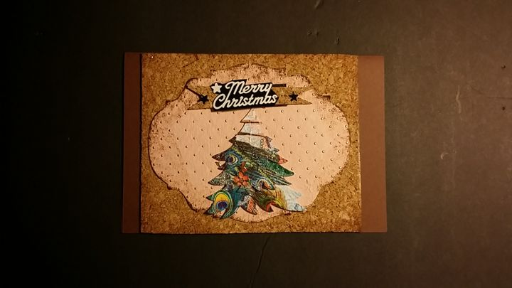 Christmas Card - Hand Made Cards