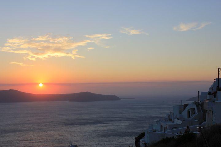Sunset on the island - KATKA'S GALLERY