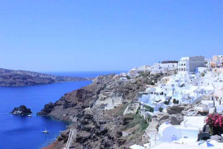 Santorini island in Greece - KATKA'S GALLERY