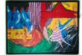 47x39 acrylic painting