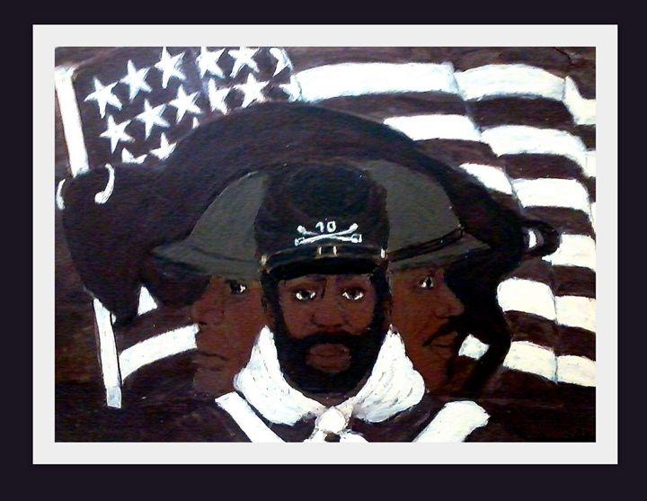 Buffalo Soldier - NOAH'S Art Gallery