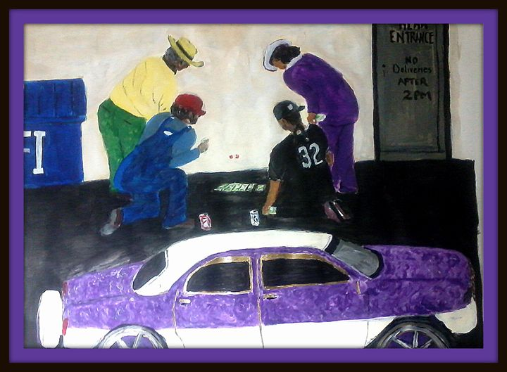 Casino In The Hood - NOAH'S Art Gallery