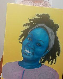 Portrait of Nigerian Wife