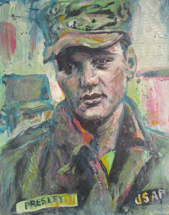 In the Army - Gerry Miller