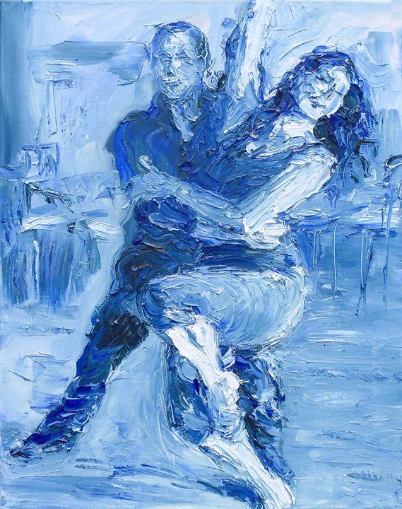 Salsa Blue - Gerry Miller