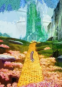 The Yellow prick road