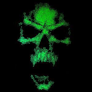 PixelArt Poison Skull