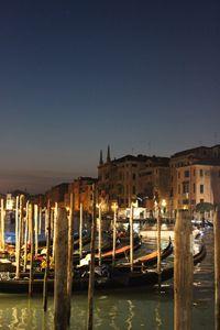Gondolas - Grand Canal Venice