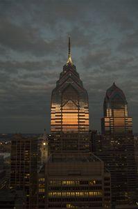 One Liberty Sunset