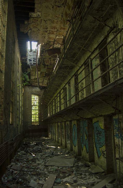 Abandoned Jail - Ian Boland