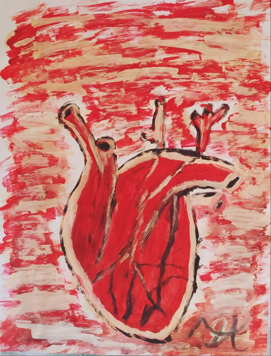 Red Heart - Nicholson Art Gallery